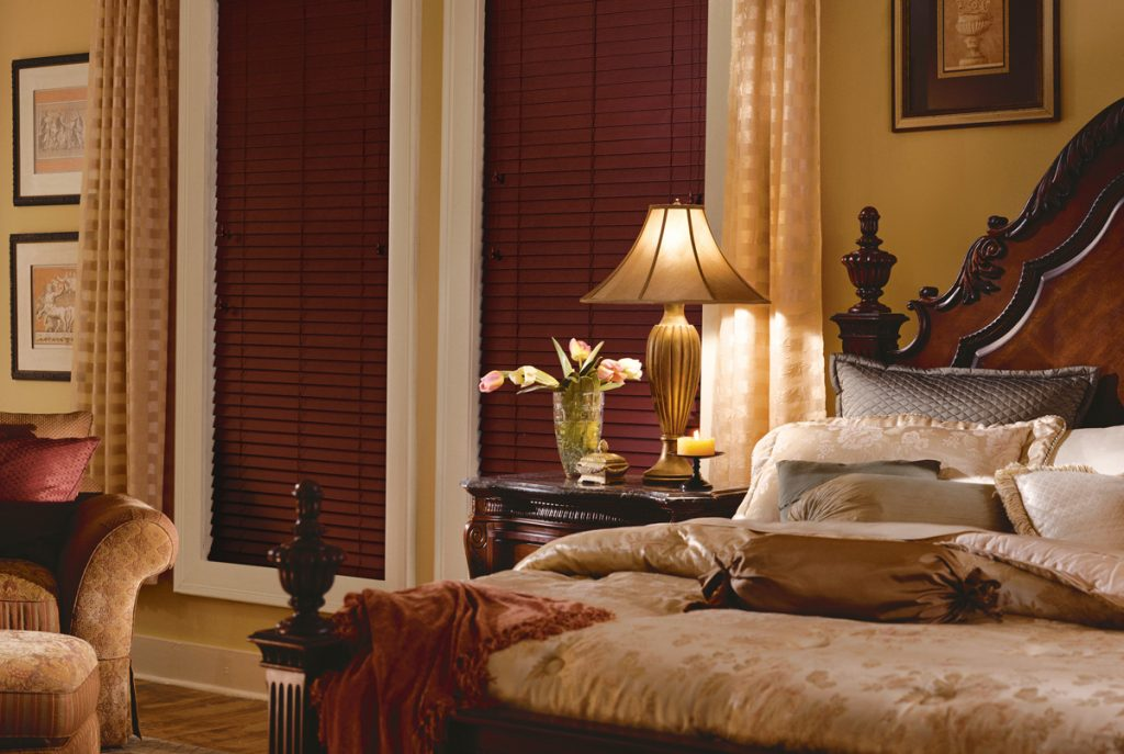 custom window blinds in bedrooms
