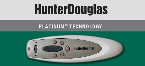 hunter douglas platinum technology