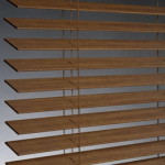 different types of window treatments - horizontal blinds