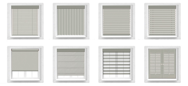 types of window shades home design