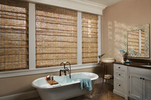 provenance wood shade bathroom