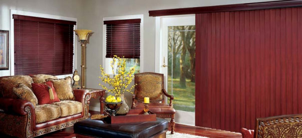hunter douglas wood vertical blinds