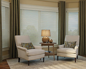 living room window blinds. Natural Elegance The Benefits of Wooden Window Blinds in St  Louis