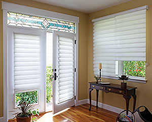 Roman Shades French-Doors Vigtraditional Easyrise