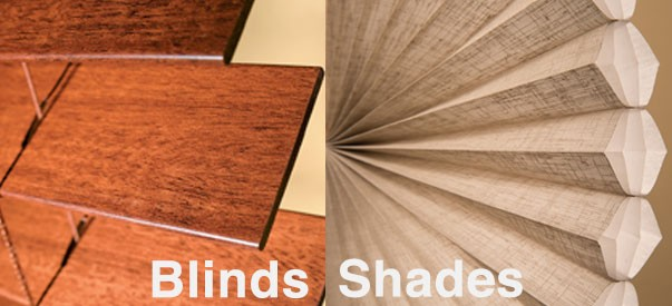 Blinds and Shades What's the Difference