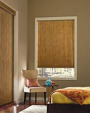 Pleated Shades Cordlock Bedroom