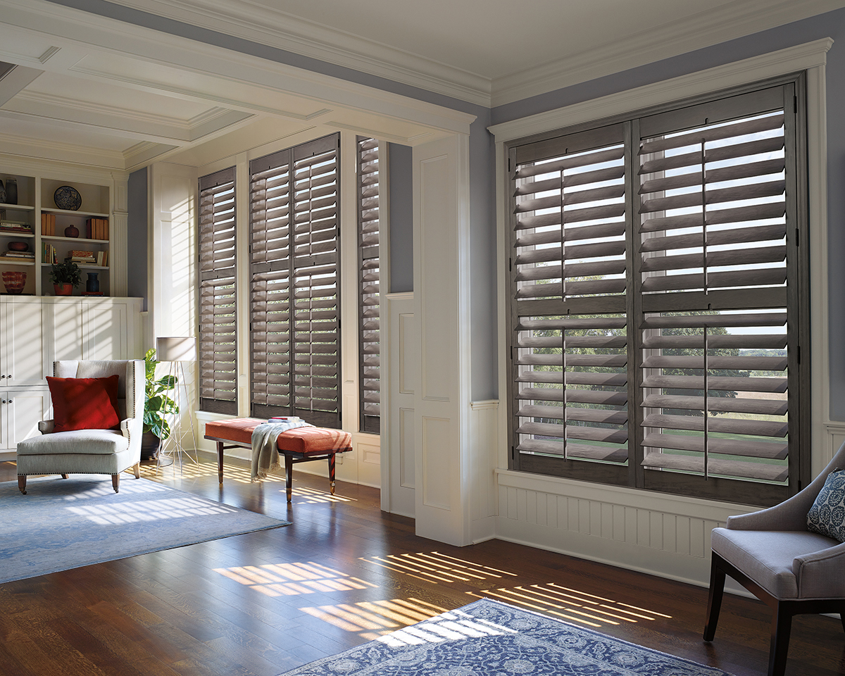 Heritance® Hardwood Shutters With Front Tilt Bar