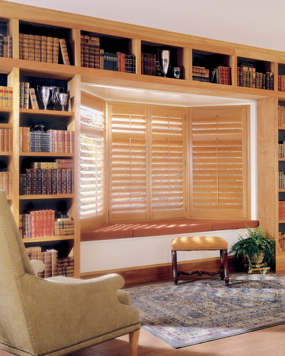 Heritance® Hardwood Shutters With Standard Hinged Panel