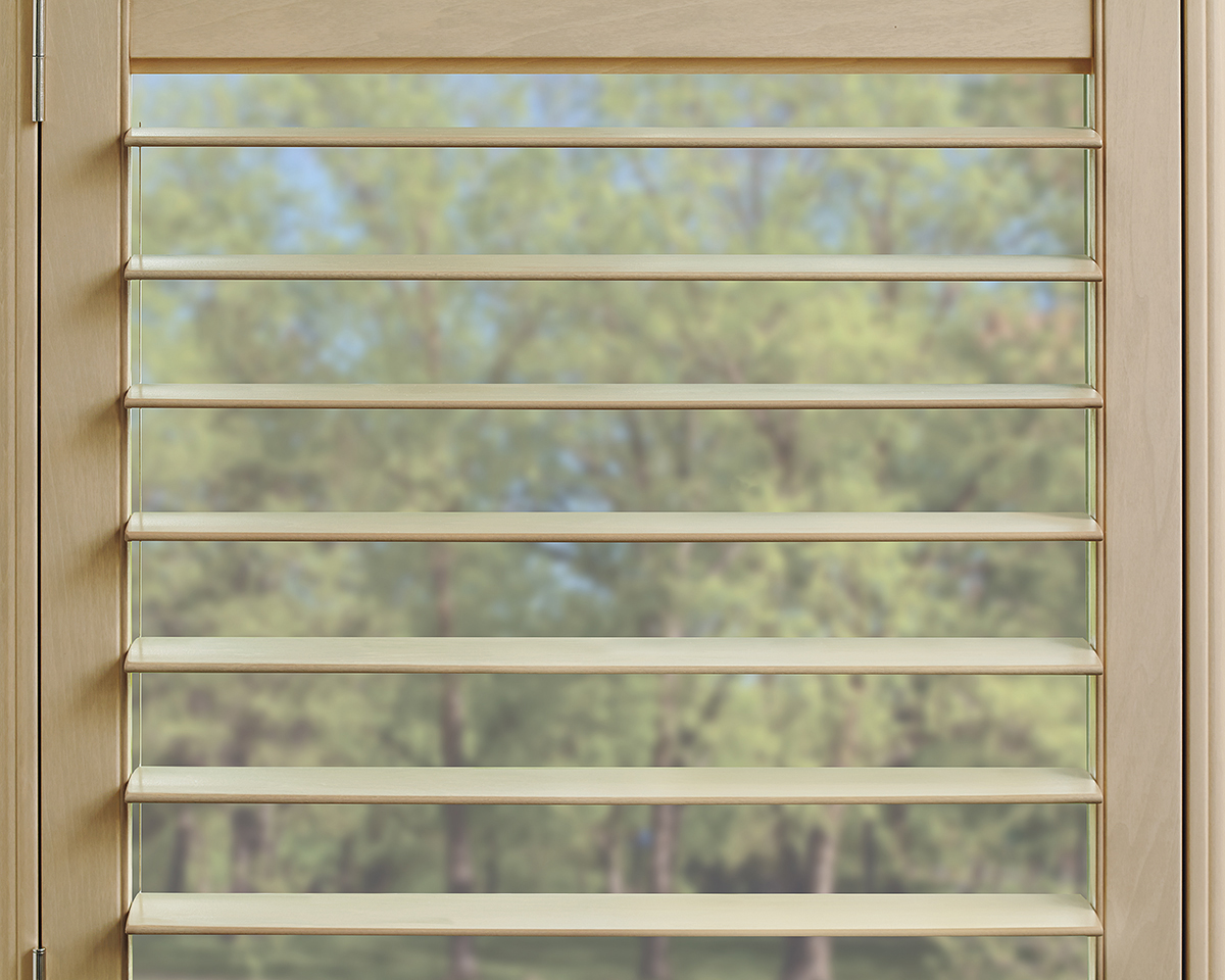Heritance® Hardwood Shutter Opened Medium