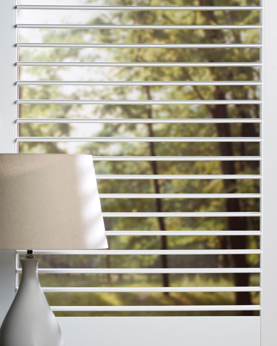 NewStyle® Hybrid Shutters Opened Small