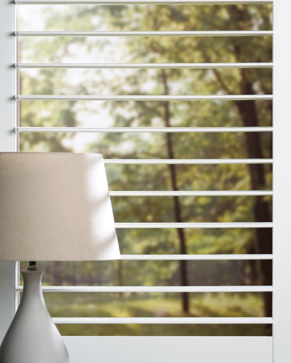 NewStyle® Hybrid Shutters Opened Medium