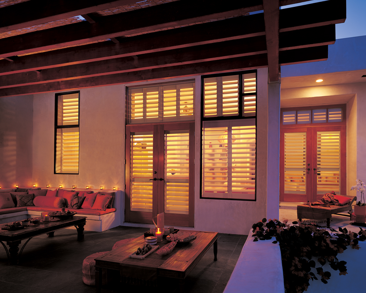 NewStyle® Hybrid Shutters Outside View