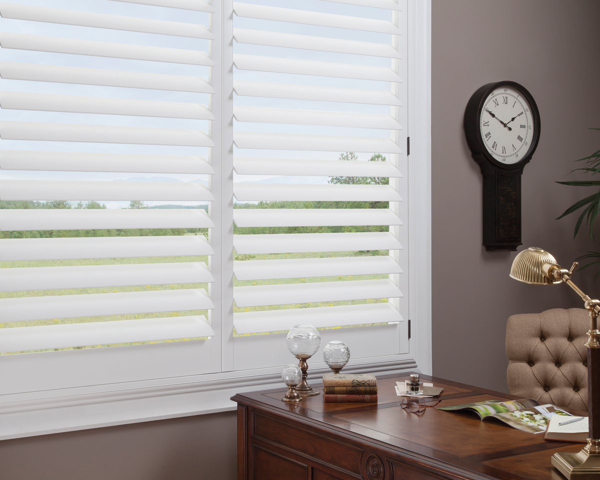 NewStyle® Hybrid Shutters With TruView™ Rear Tilt